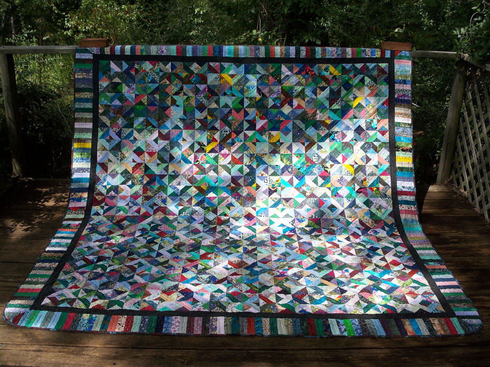 Between Quilt - finished 09/13/12