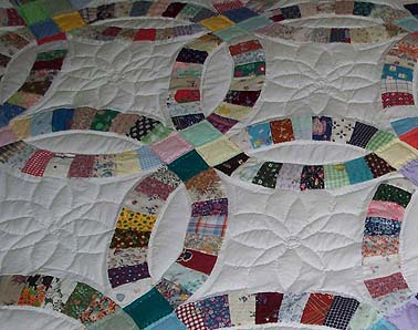 Quilting detail