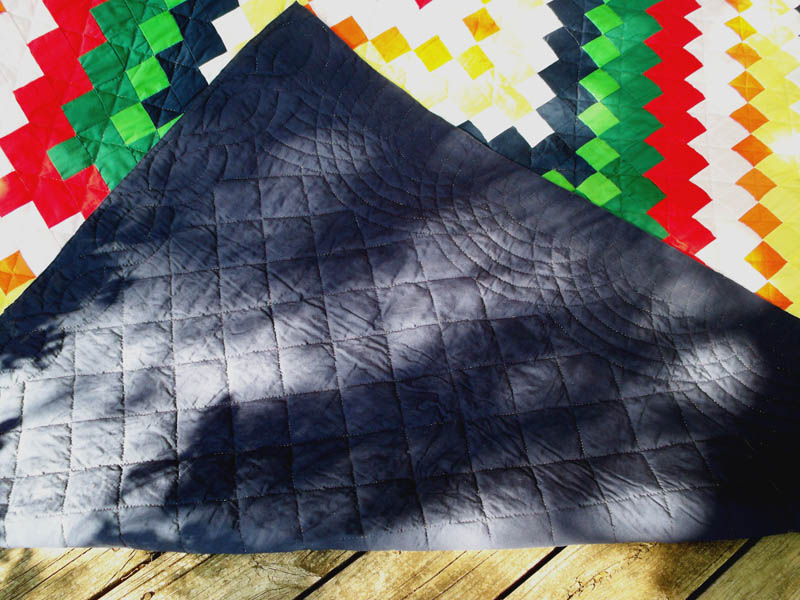 Trip quilting